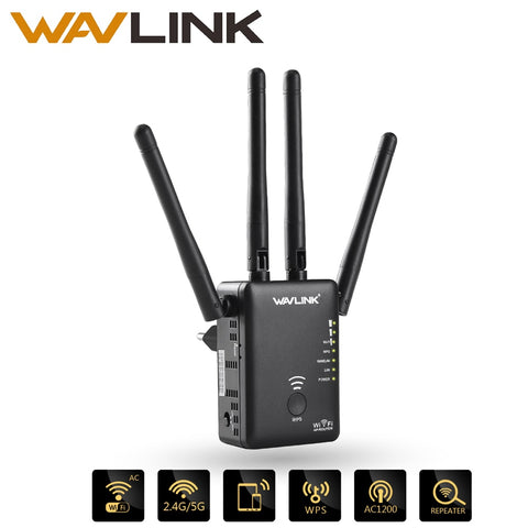 Wavlink AC1200 WIFI Repeater/Router/Access point  Wireless Wi-Fi Range Extender wifi signal amplifier with External Antennas Hot - BuyShipSave