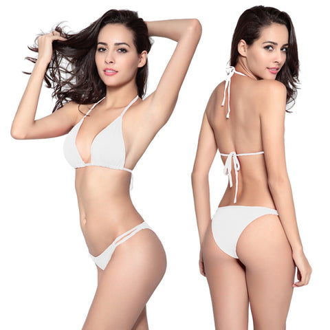 Lady Bikini Swimsuit Sexy Two Pieces Swimwear for Women Beach Swimming Pool Party - BuyShipSave
