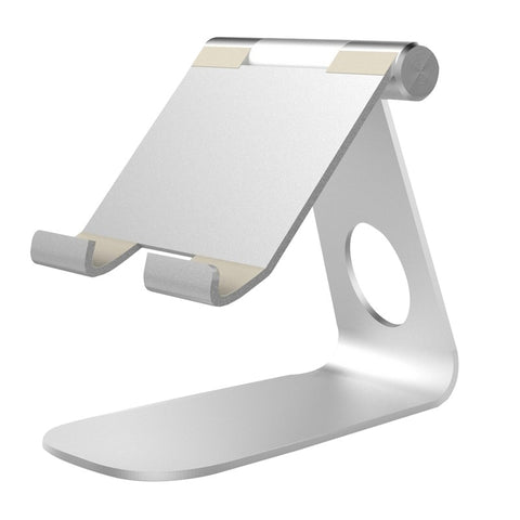 Adjustable Tablet Stand Aluminum Desktop Stand Holder Dock for iPad Kindle E-reader Other Android Tablets - BuyShipSave