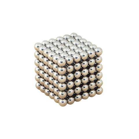 216pcs Electroplating Bucky Balls Magic Magnetic Stress Relief Balls (Silver) - BuyShipSave