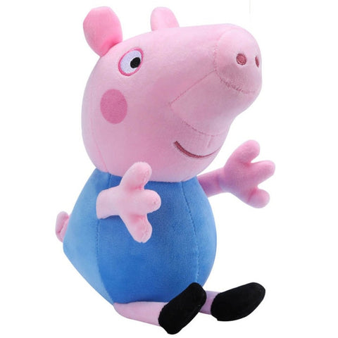 Genuine Peppa Pig 19CM Pink Pig Plush Toys High Quality Hot Sale Soft Stuffed Cartoon Animal Doll for Children's Family Party - BuyShipSave