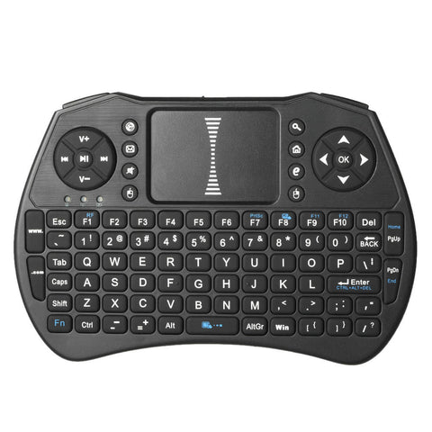 2.4GHz Wireless Keyboard Air Mouse Touchpad Handheld Remote Control for Android TV BOX PC Smart TV - BuyShipSave