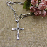 Fast and Furious Necklace, Dominic Toretto Cross Necklace - BuyShipSave