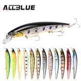 ALLBLUE 2018 Professional Suspend JERKBAIT SHANKS 130SP Fishing Lure 130mm 21.5g Wobbler Minnow Depth 1.5-2m Bass Pike Bait Lure - BuyShipSave