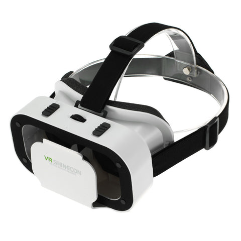 VR SHINECON Virtual Reality Glasses 3D VR Box Glasses Headset for Android iOS Windows Smart Phones with 4.7-6.0 inches - BuyShipSave