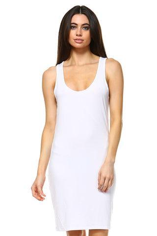 Women's Sleeveless Bodycon Dress - BuyShipSave