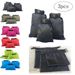 3pcs 1.5L+2.5L+3.5L Waterproof Dry Bag Storage Pouch Bag for Camping Boating Kayaking Rafting Fishing - BuyShipSave