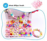 Children creative DIY beads toy with whole accessory set/ Kids girls handmade art craft educational toys for gifts and presents - BuyShipSave