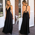 Sexy Women Multiway Wrap Convertible Boho Maxi Club Red Dress Bandage Long Dress Party Bridesmaids Infinity Robe Longue Femme - BuyShipSave