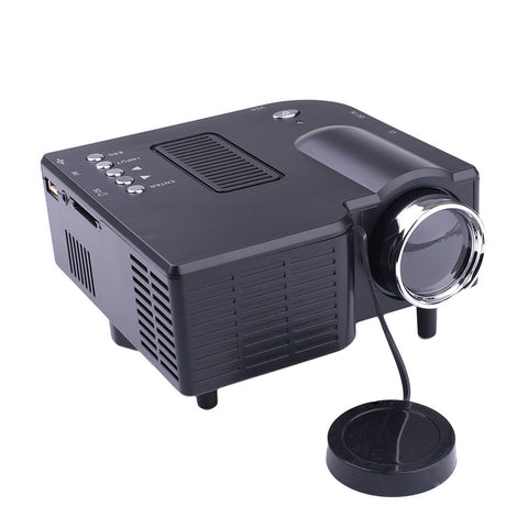 Home Multimedia Projector LED Projector Premium Courtyard Business Mini Projector HDMI/VGA/SD/AV Port 1920*1080 Office School - BuyShipSave