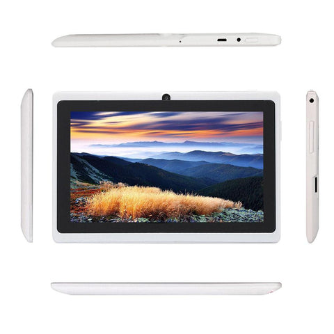 "7"" White UK Tablet Dual"