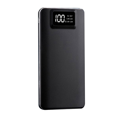 Battery Charger Power Bank Portable Hiking High Capacity Dual USB LCD Display Screen Mobile Phone Travel - BuyShipSave