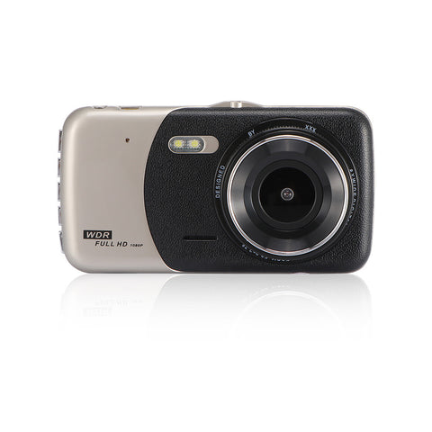 "4"" Dual Lens 1080P FHD 1.0MP Dash Camera Car DVR Video Recorder - BuyShipSave"