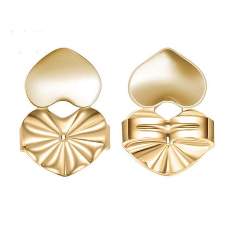 Magic Earring backs Lifters Gold Plated Earrings Ear Jewelry Accessories - BuyShipSave