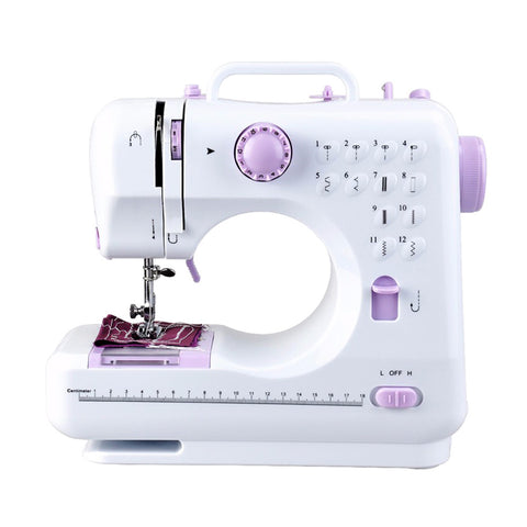 Multifunction Household Double Thread And Speed Free-Arm Crafting Mending Machine (US Plug)