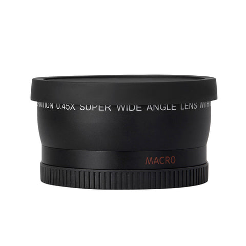 HD 52MM 0.45x Wide Angle Lens with Macro Lens for Canon Nikon Sony Pentax 52MM DSLR Camera - BuyShipSave