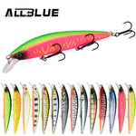 ALLBLUE SHANKS 110SP Wobbler Suspend Jerkbait Fishing Lure 110mm 15g Plastic Minnow Bass Pike Artificial Hard Bait Tackle - BuyShipSave
