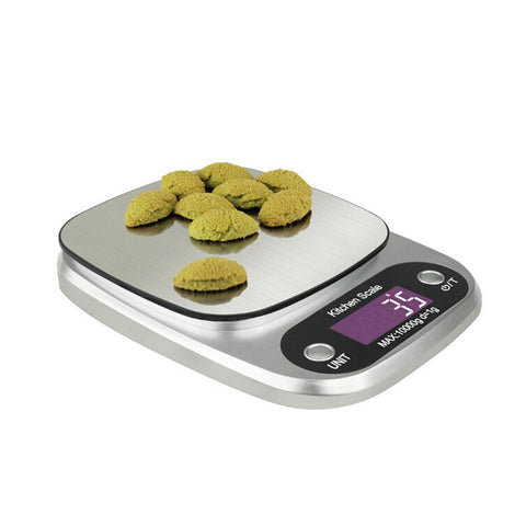10kg Stainless Steel Electronic Kitchen Scales Weigh Food Ingredients and Liquid - BuyShipSave