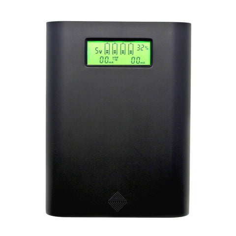 Promotion Replaceable Batteries Power Bank Accessories With E3S LCD Display Professional Charger For 4 Pieces 18650 Batteries - BuyShipSave