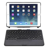 7 Colors Backlit Light Wireless Bluetooth Keyboard Cover Case For iPad 9.7 2017 2018 A1822 A1823 A1893 A1954 + Stylus + Film - BuyShipSave