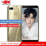 Original Global Lenovo K5 Play Phone Android 8.0 Snapdragon 430 MSM8937 Octa-Core 5.7 inch Fingerprint Rear13.0MP 3GB+32GB OTA - BuyShipSave