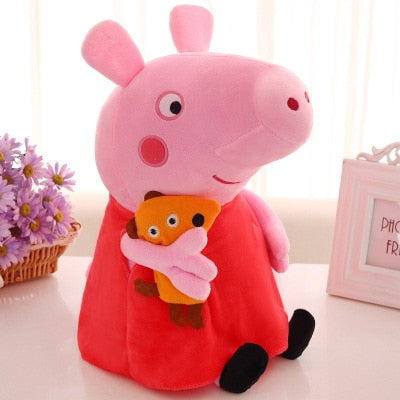 Peppa Pig George Pig 19cm Plush Toys For Kids Girls Baby Birthday Party Animal Plush Toys Gifts - BuyShipSave