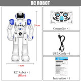 DODOELEPHANT Remote Control Robot Toy Smart Child RC Robot With Sing Dance Action Figure Toys For Boys Children Birthday Gift - BuyShipSave