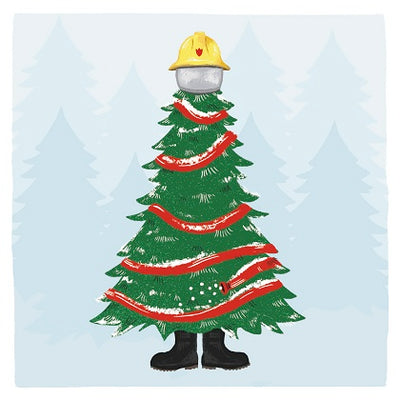 """Firefighters Tree"" Christmas Cards - Limited Stock"