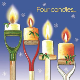 "New ""Four Candles"" Christmas Cards"