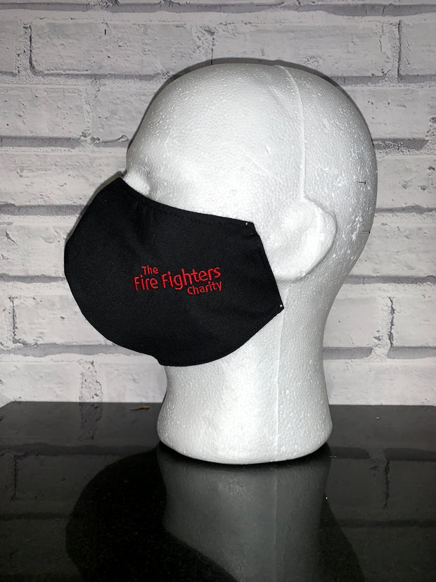 Fire Fighters Charity Embroidered Face Covering