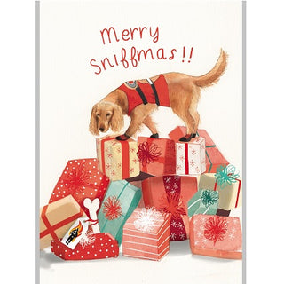 """Merry Sniffmas"" Christmas Cards"