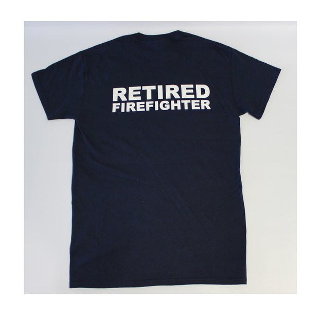 'Retired' Firefighter T Shirt