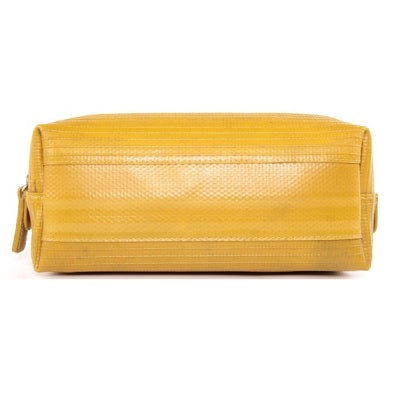 Elvis & Kresse Medium Yellow Wash Bag