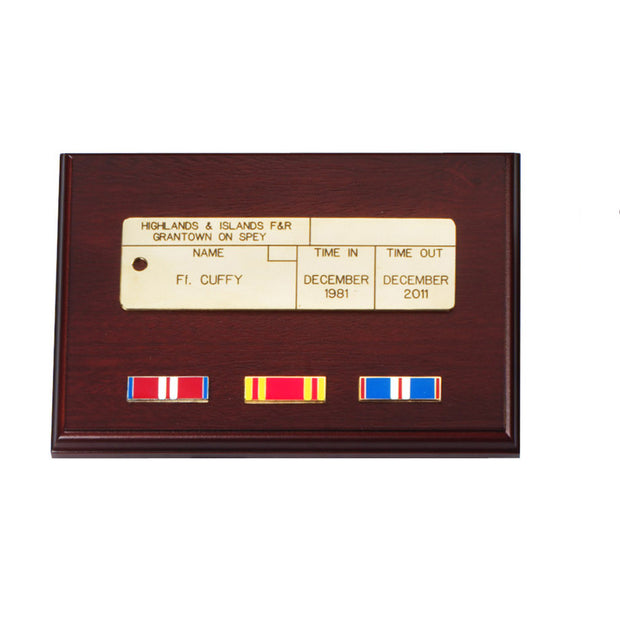 Queen's Golden Jubilee Enamel Medal Ribbon