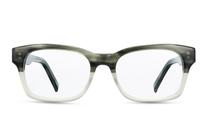 Hera (Light Green Fade Clear)Glasses