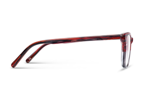 Helios (Shiny Violet Fade Clear )Glasses