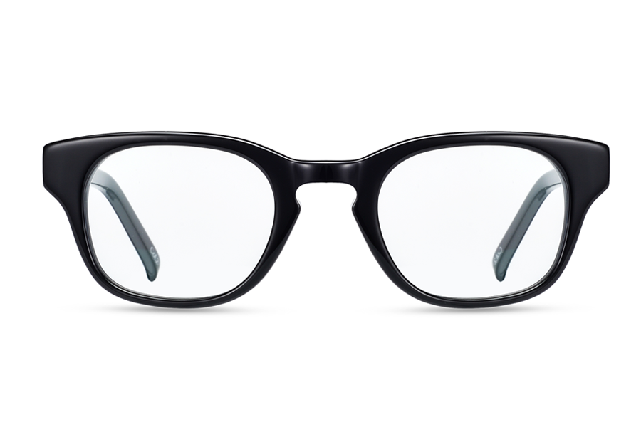 Iris (Shiny Black)Glasses