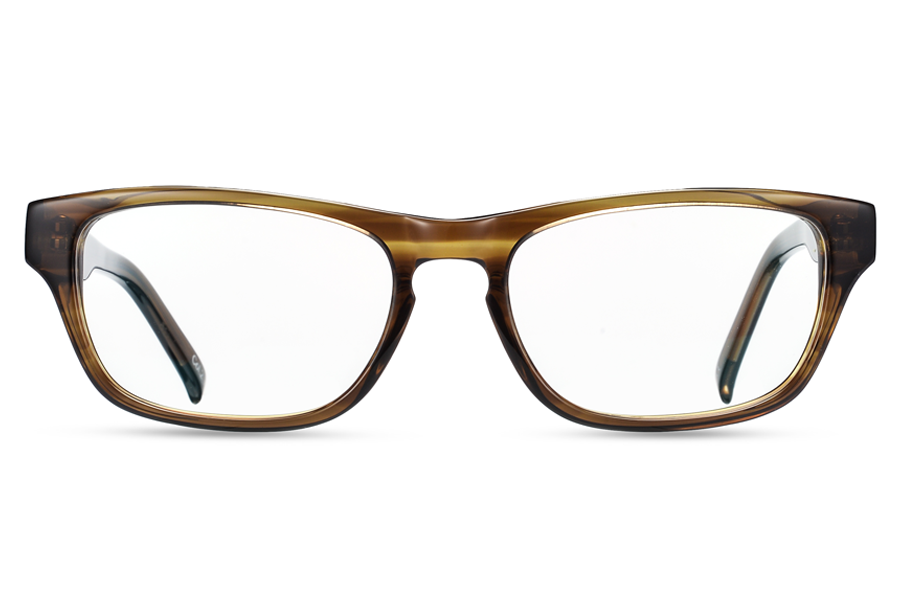 Zeus (Solid Brown)Glasses