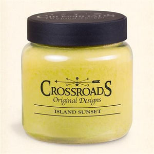 Island Sunset Candle