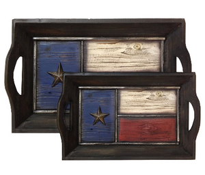 Texas Flag Tray