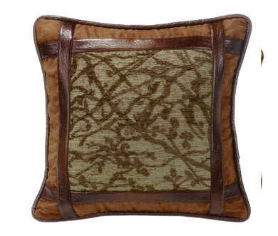 Highland Lodge Square Pillow