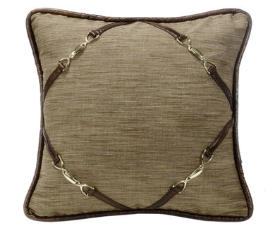 Highland Lodge Linen Square Pillow