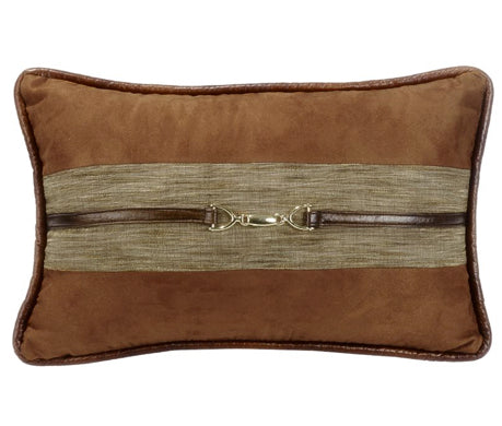 Highland Lodge Faux Suede Pillow