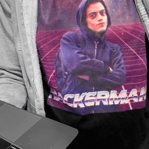 CAMISETA HACKERMAN | MR. ROBOT