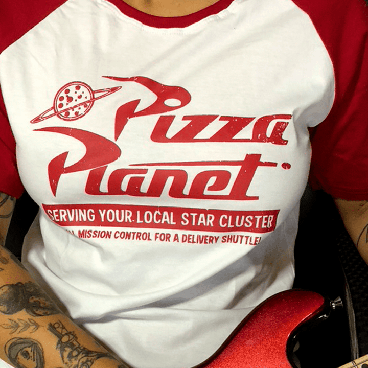 RAGLAN PIZZA PLANET