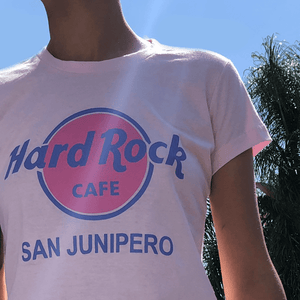 CAMISETA HARD ROCK CAFE SAN JUNIPERO