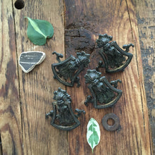 Load image into Gallery viewer, antique cast drawer pulls ~set of 4~