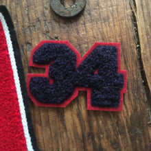 Load image into Gallery viewer, vintage 1970s letterman letter number lot of 6