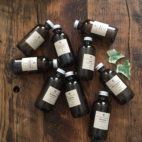pure undiluted essential oils by the ounce ~m thru p~