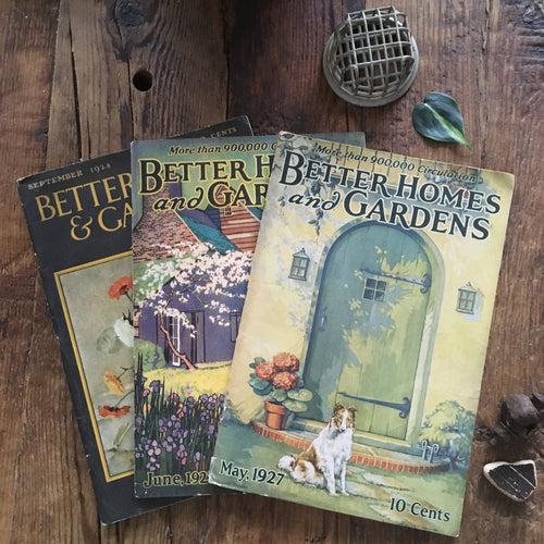 better homes and gardens magazines 1920s ~your choice~